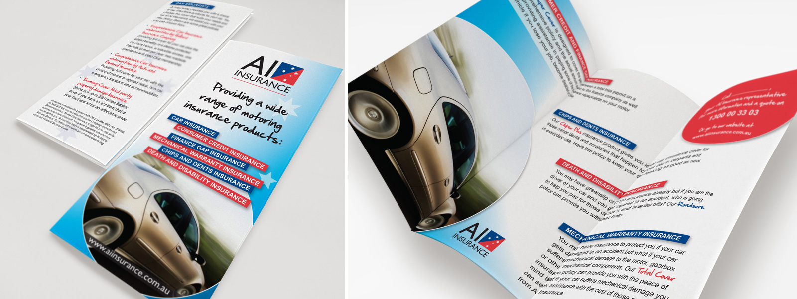 AI Insurance Brochure Design