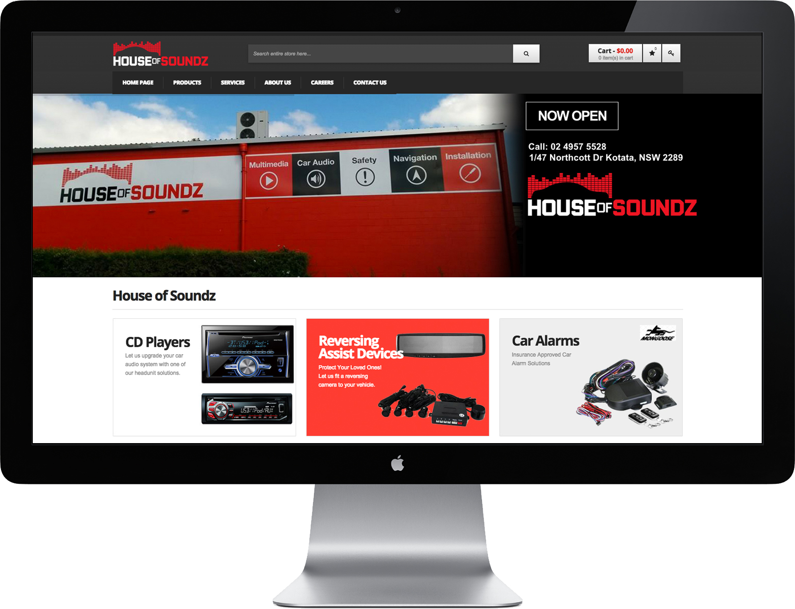 House of Soundz Website