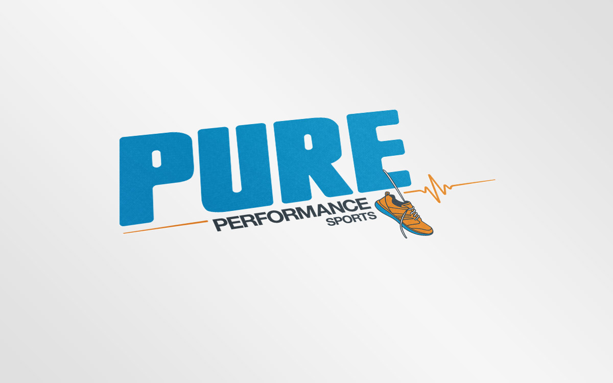 Pure Performance Sports Branding and Identity